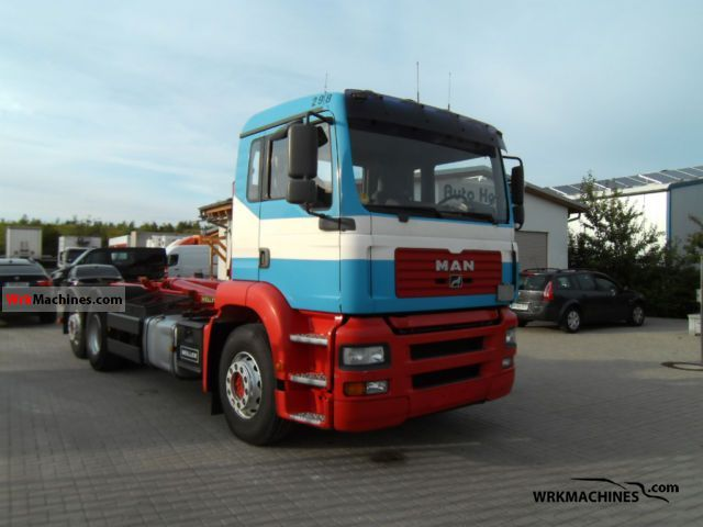 2002 MAN TGA 26.360 Truck over 7.5t Roll-off tipper photo
