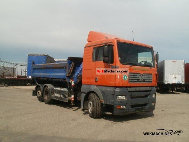2002 MAN TGA 26.410 Truck over 7.5t Tipper photo