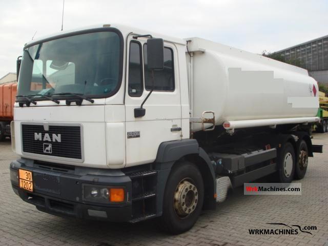 1998 MAN F 2000 26.293 Truck over 7.5t Tank truck photo
