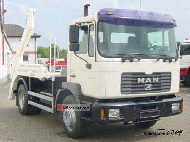 2001 MAN M 2000 L 280 Truck over 7.5t Dumper truck photo