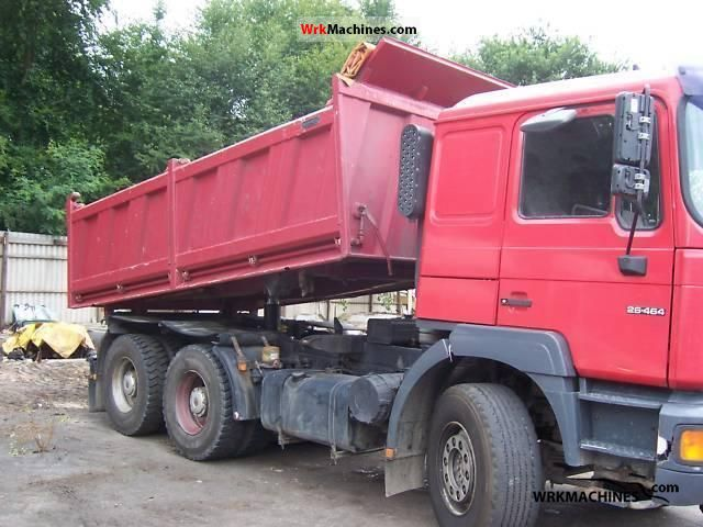 2000 MAN LION´S STAR 464 Truck over 7.5t Three-sided Tipper photo