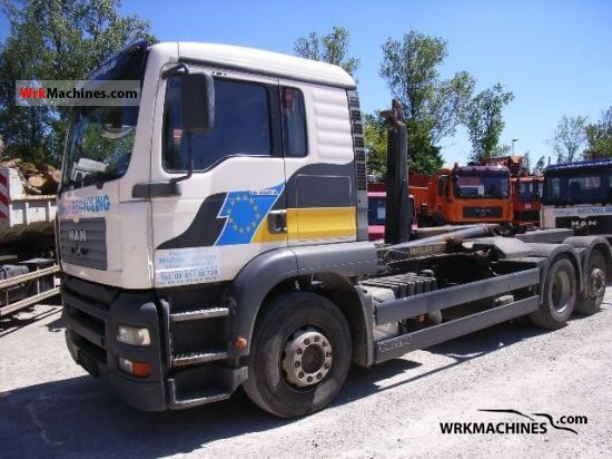 2002 MAN TGA 26.460 Truck over 7.5t Roll-off tipper photo