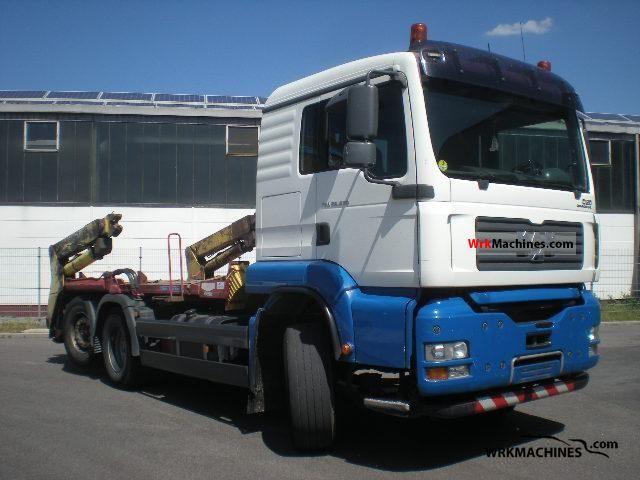 2006 MAN TGA 26.430 Truck over 7.5t Dumper truck photo