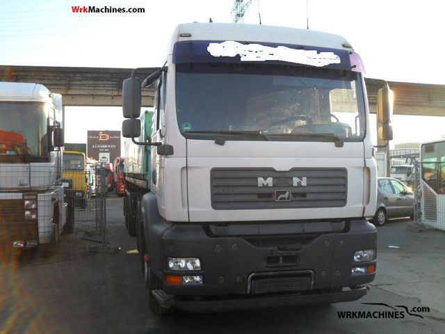 2004 MAN TGA 26.410 Semi-trailer truck Standard tractor/trailer unit photo