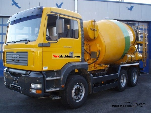 2003 MAN NG 263 Truck over 7.5t Cement mixer photo