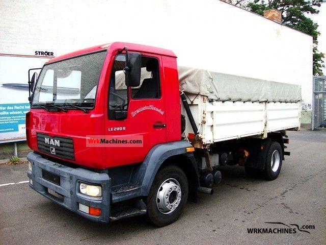 2002 MAN M 2000 L 280 Truck over 7.5t Tipper photo