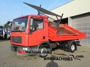 2007 MAN TGL 8.180 Van or truck up to 7.5t Tipper photo