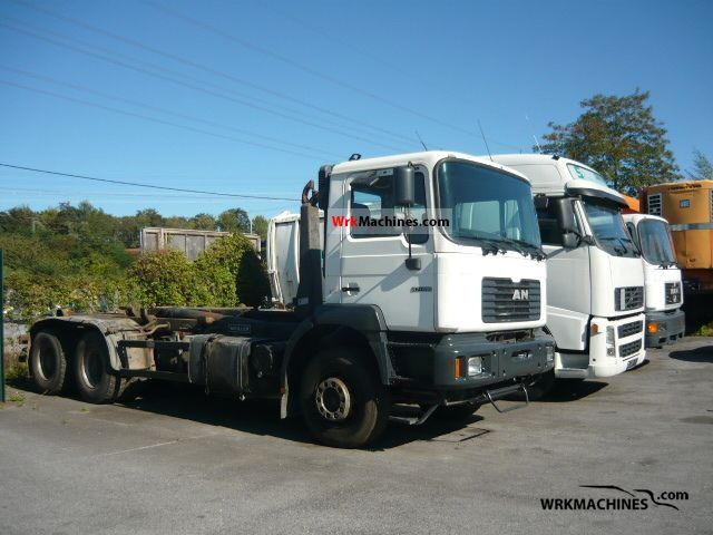 2002 MAN LION´S COACH 414 Truck over 7.5t Roll-off tipper photo