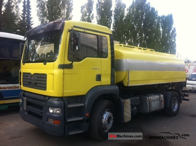 2002 MAN TGA 18.460 Truck over 7.5t Tank truck photo