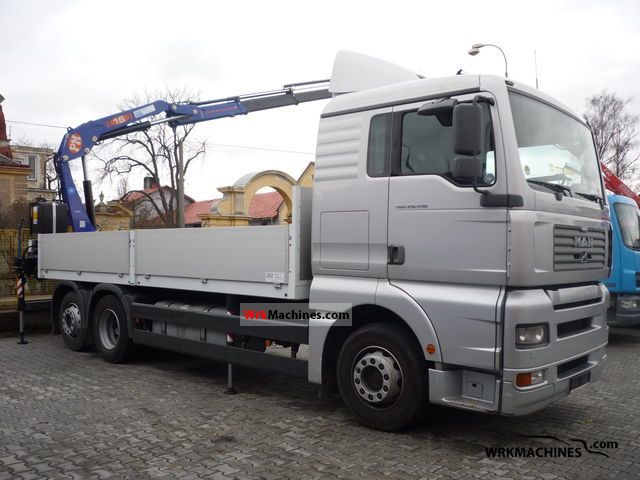 2003 MAN TGA 26.410 Truck over 7.5t Truck-mounted crane photo