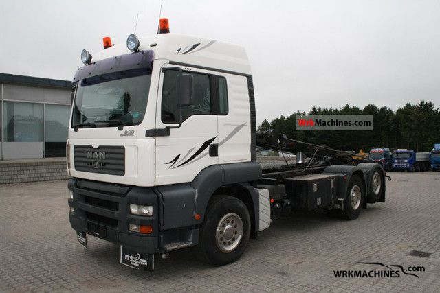 2004 MAN TGA 26.390 Truck over 7.5t Roll-off tipper photo