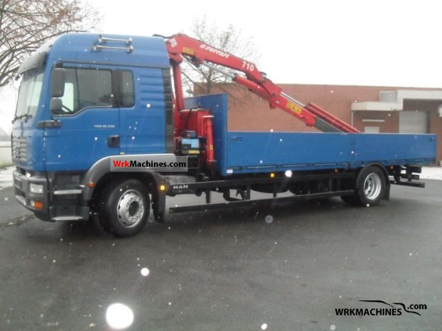 2006 MAN TGM 18.330 Truck over 7.5t Stake body photo