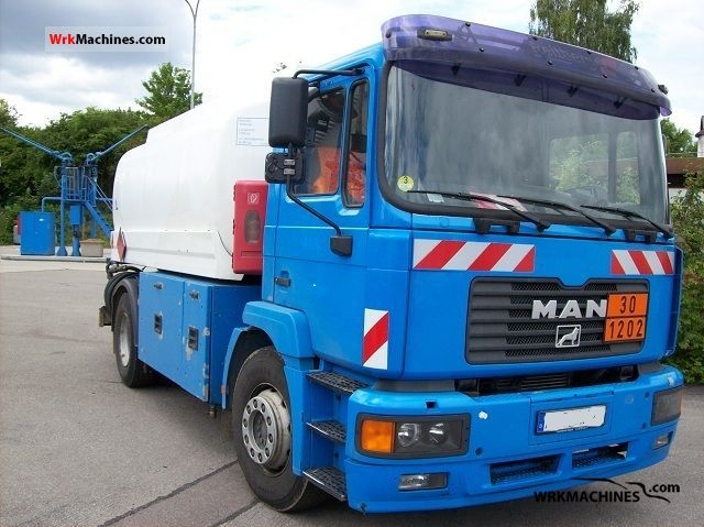 2003 MAN M 2000 L 280 Truck over 7.5t Tank truck photo