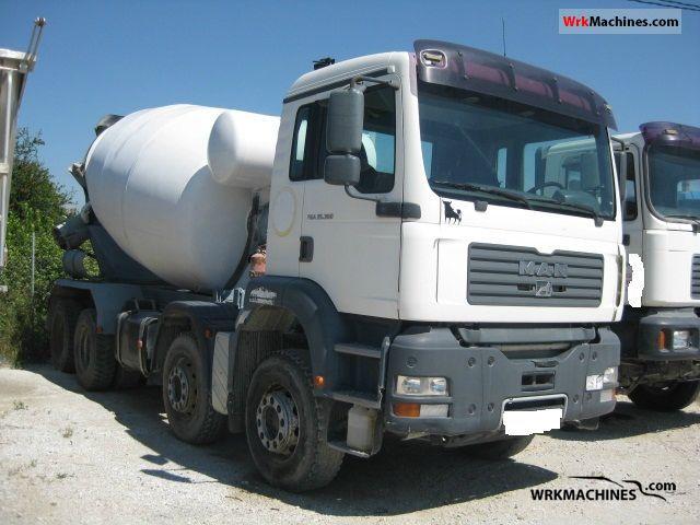 2005 MAN TGA 32.360 Truck over 7.5t Cement mixer photo