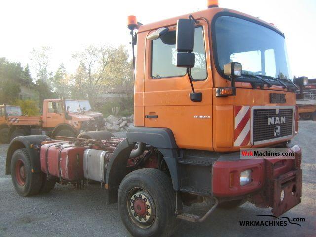 2001 MAN F 2000 19.364 Truck over 7.5t Three-sided Tipper photo