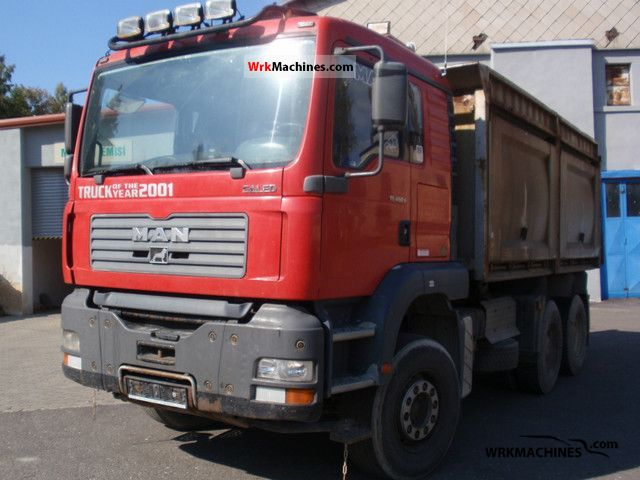 2002 MAN TGA 33.460 Truck over 7.5t Three-sided Tipper photo