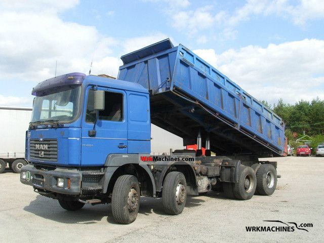 2002 MAN LIONS COMFORT 353 Truck over 7.5t Three-sided Tipper photo