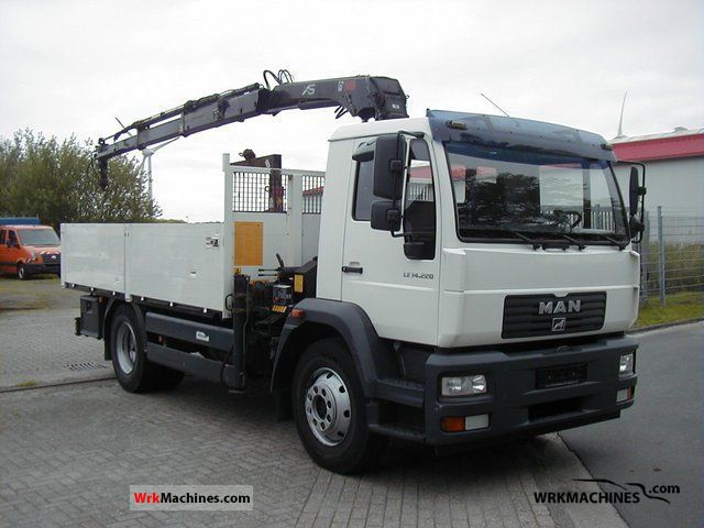 2006 MAN L 2000 220 Truck over 7.5t Stake body photo