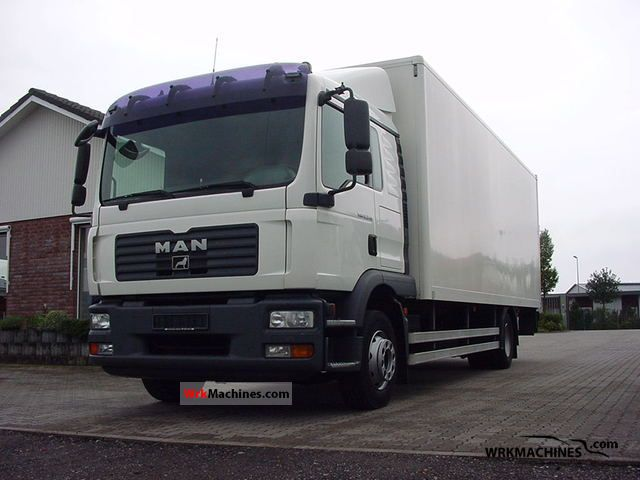 2007 MAN TGL 12.240 Truck over 7.5t Box photo