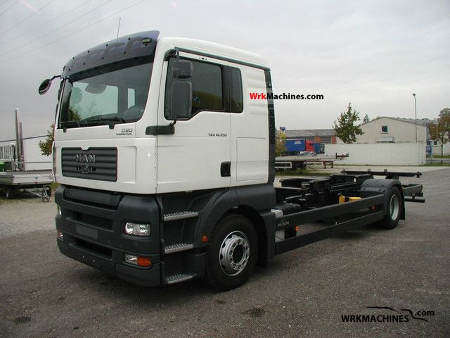 2006 MAN TGA 18.350 Truck over 7.5t Chassis photo