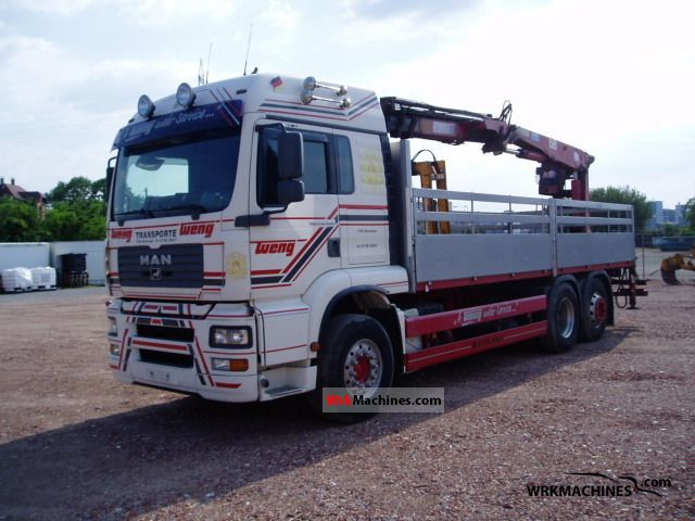 2003 MAN TGA 26.460 Truck over 7.5t Truck-mounted crane photo