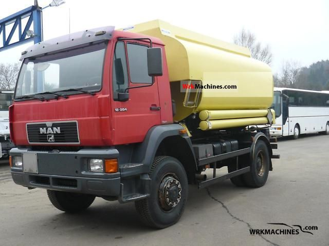 1999 MAN M 2000 L 18.264 Truck over 7.5t Tank truck photo