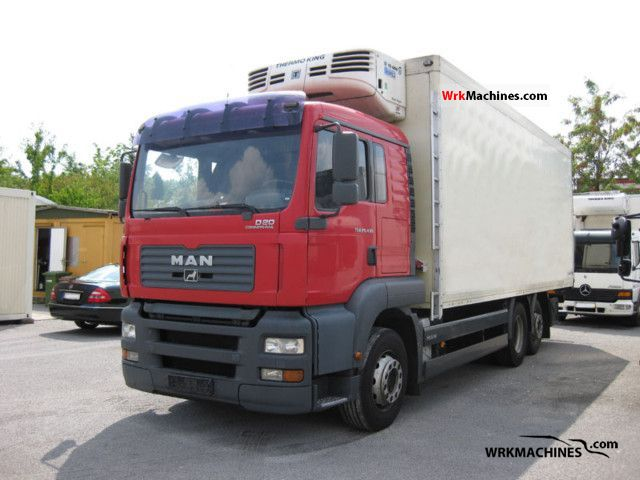 2005 MAN TGA 26.430 Truck over 7.5t Refrigerator body photo