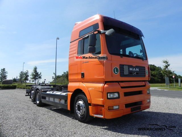 2007 MAN TGA 26.440 Truck over 7.5t Chassis photo