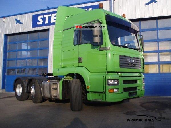 2003 MAN F 2000 26.463 Semi-trailer truck Heavy load photo