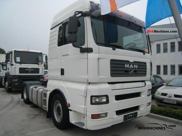 2008 MAN TGA 18.440 Semi-trailer truck Standard tractor/trailer unit photo