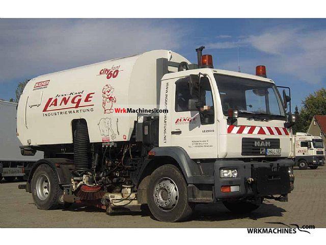 2001 MAN M 2000 L 280 Truck over 7.5t Roll-off tipper photo