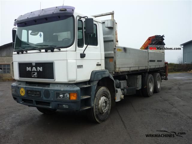 1998 MAN F 2000 33.403 Truck over 7.5t Truck-mounted crane photo