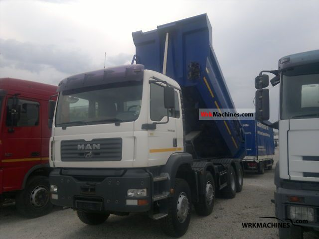 2004 MAN TGA 35.360 Truck over 7.5t Tipper photo