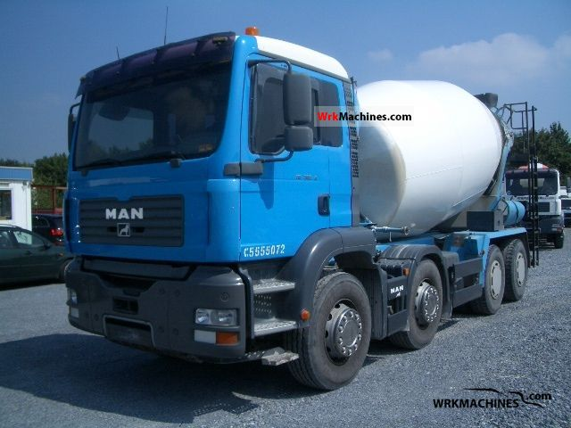 2002 MAN LIONS COMFORT 353 Truck over 7.5t Cement mixer photo
