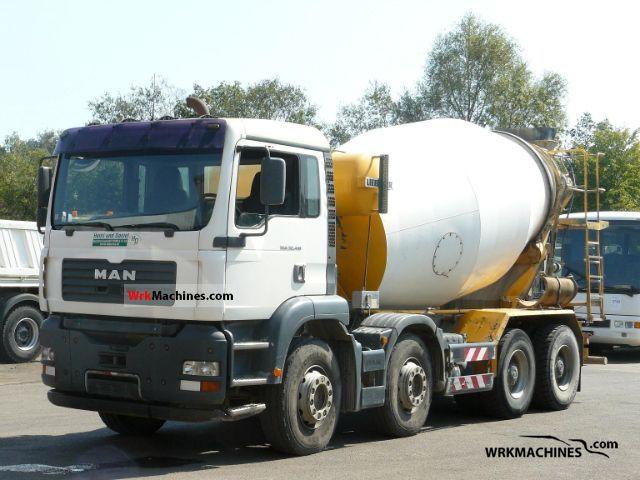 2003 MAN TGA 32.410 Truck over 7.5t Cement mixer photo