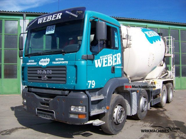 2005 MAN TGA 35.350 Truck over 7.5t Cement mixer photo