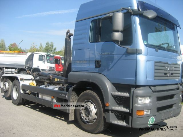 2006 MAN TGA 26.430 Truck over 7.5t Roll-off tipper photo