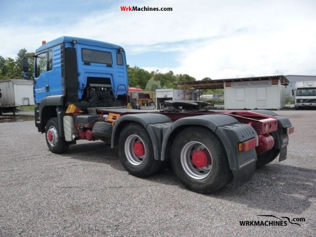 2003 MAN TGA 26.410 Semi-trailer truck Heavy load photo