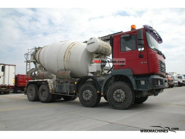 2001 MAN LION´S STAR 414 Truck over 7.5t Cement mixer photo