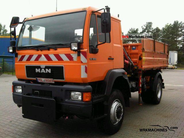 2001 MAN M 2000 L 18.255 Truck over 7.5t Three-sided Tipper photo