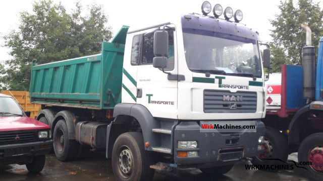 2003 MAN TGA 26.460 Truck over 7.5t Three-sided Tipper photo