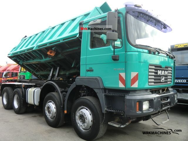 2001 MAN LION´S STAR 464 Truck over 7.5t Three-sided Tipper photo