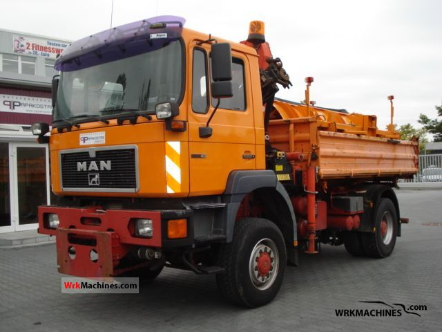 1996 MAN F 2000 19.343 Truck over 7.5t Tipper photo