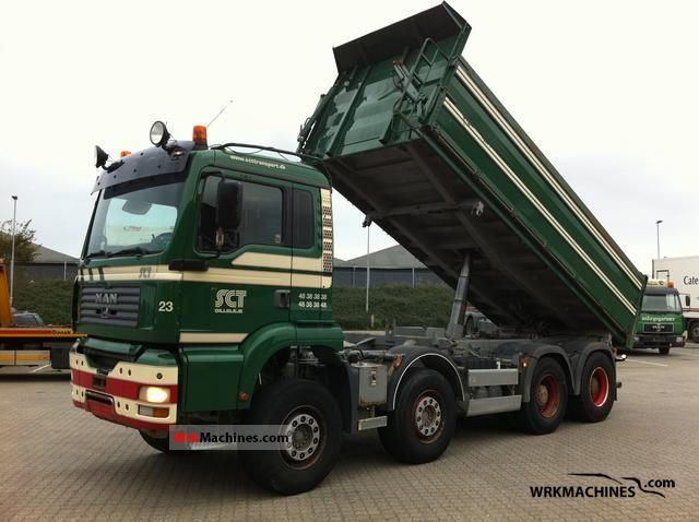 2005 MAN TGA 35.480 Truck over 7.5t Tipper photo