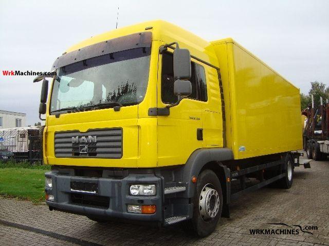 2007 MAN TGM 18.330 Truck over 7.5t Box photo