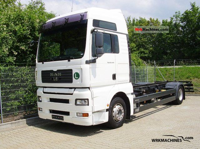 2006 MAN TGA 18.440 Truck over 7.5t Chassis photo