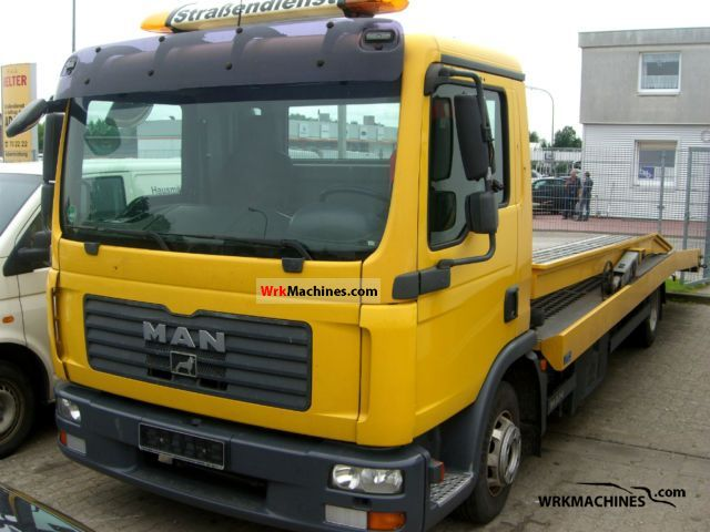 2008 MAN TGL 8.180 Van or truck up to 7.5t Breakdown truck photo