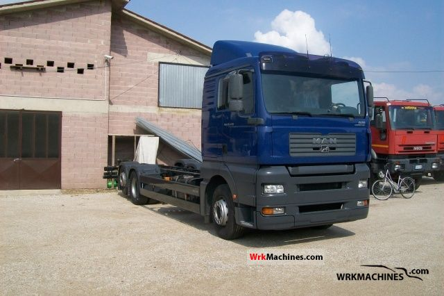 2006 MAN TGA 26.430 Truck over 7.5t Chassis photo