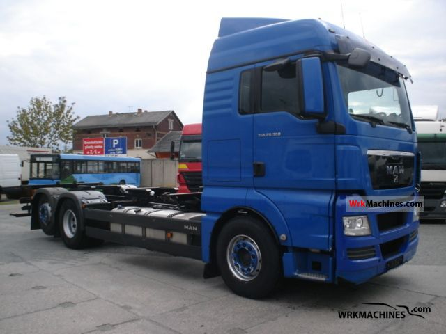 2008 MAN TGA 26.360 Truck over 7.5t Swap chassis photo