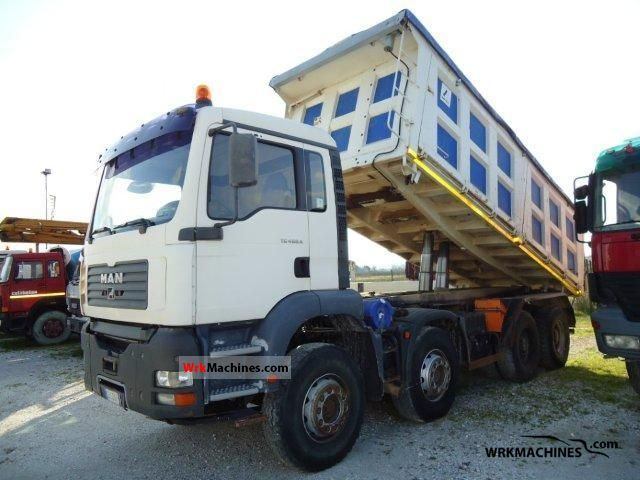 2003 MAN TGA 41.460 Truck over 7.5t Tipper photo